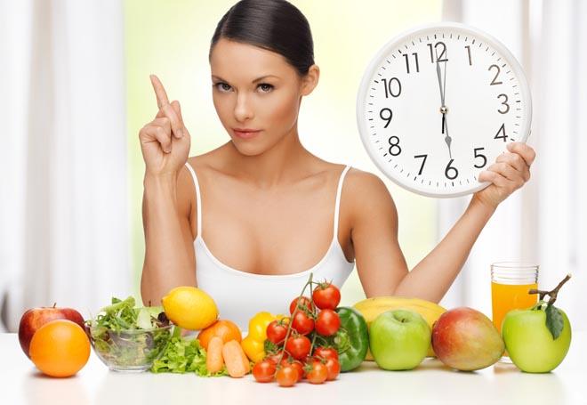 Одноразовое питание, пятиразовое, шестиразовое питание для похудения: меню на неделю по часам, меню