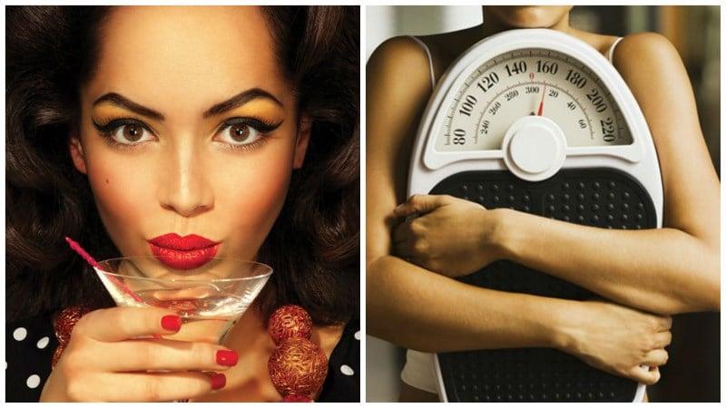 Как алкоголь влияет на похудение и рост мышц