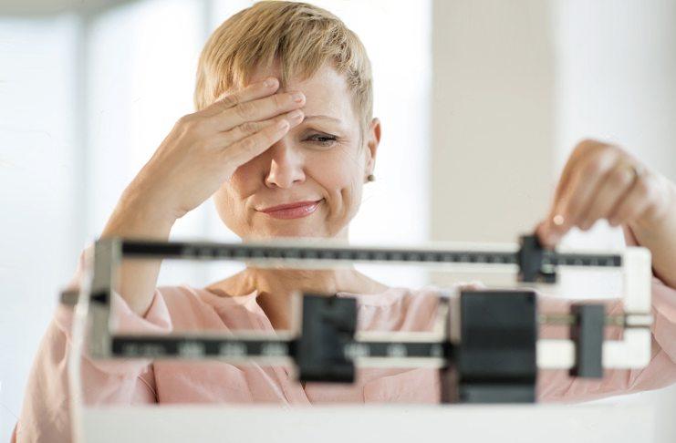 Набор веса в период менопаузы
