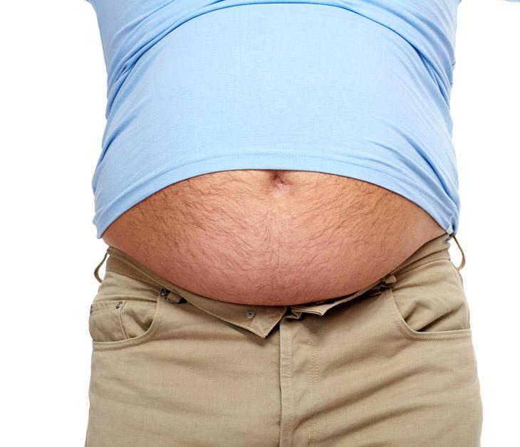 Как убрать жир с живота мужчине