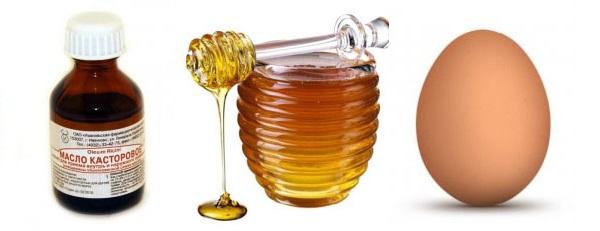 Нанести касторовое масло на брови
