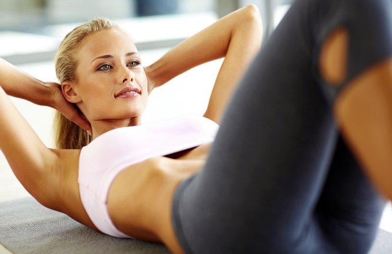упражнения для похудения живота и боков дома