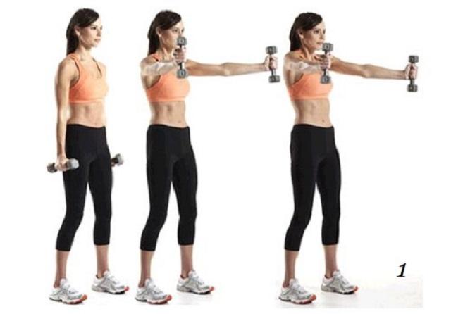 упражнение для похудения спины в домашних