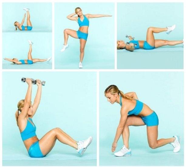 Упражнения для худых ног за неделю