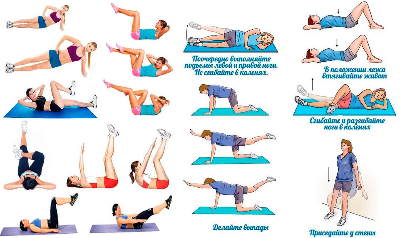 Какие Упражнения Можно Делать При Диете. План питания и тренировок для похудения за месяц