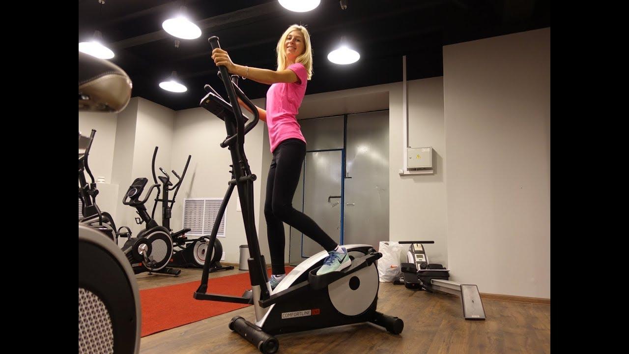 занятие на тренажере эллипс для похудения
