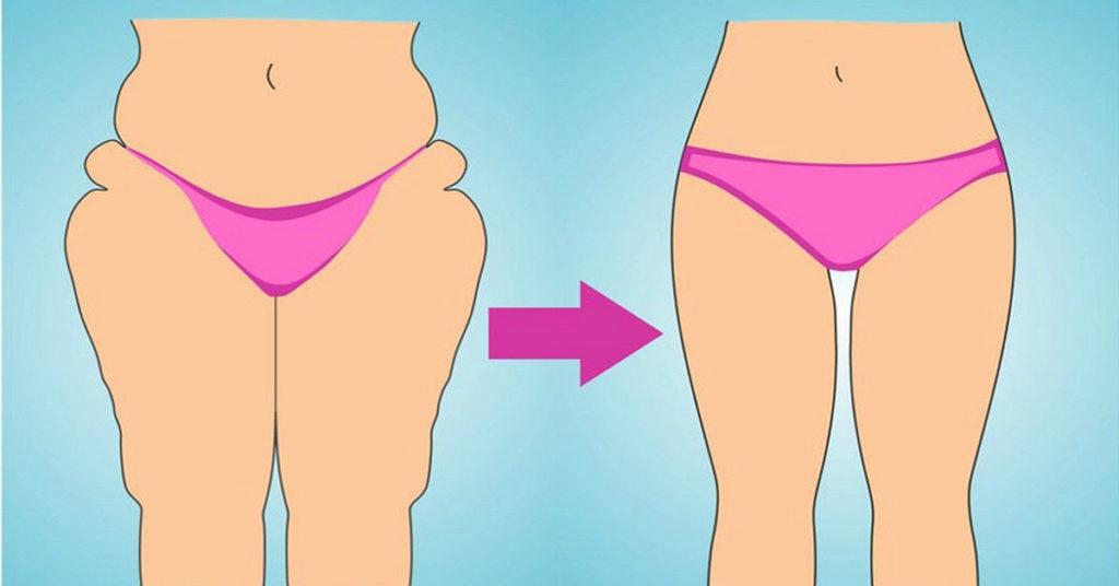 Что сделать для похудения ляшек