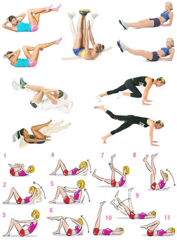 Легкие Упражнение Для Похудения Дома. Легкие и эффективные комплексы упражнений для похудения в домашних условиях для женщин и мужчин
