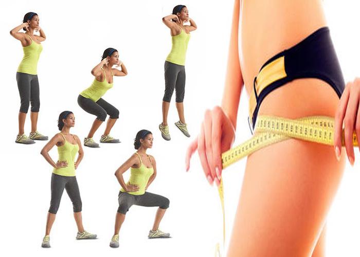 Упражнения для похудения в