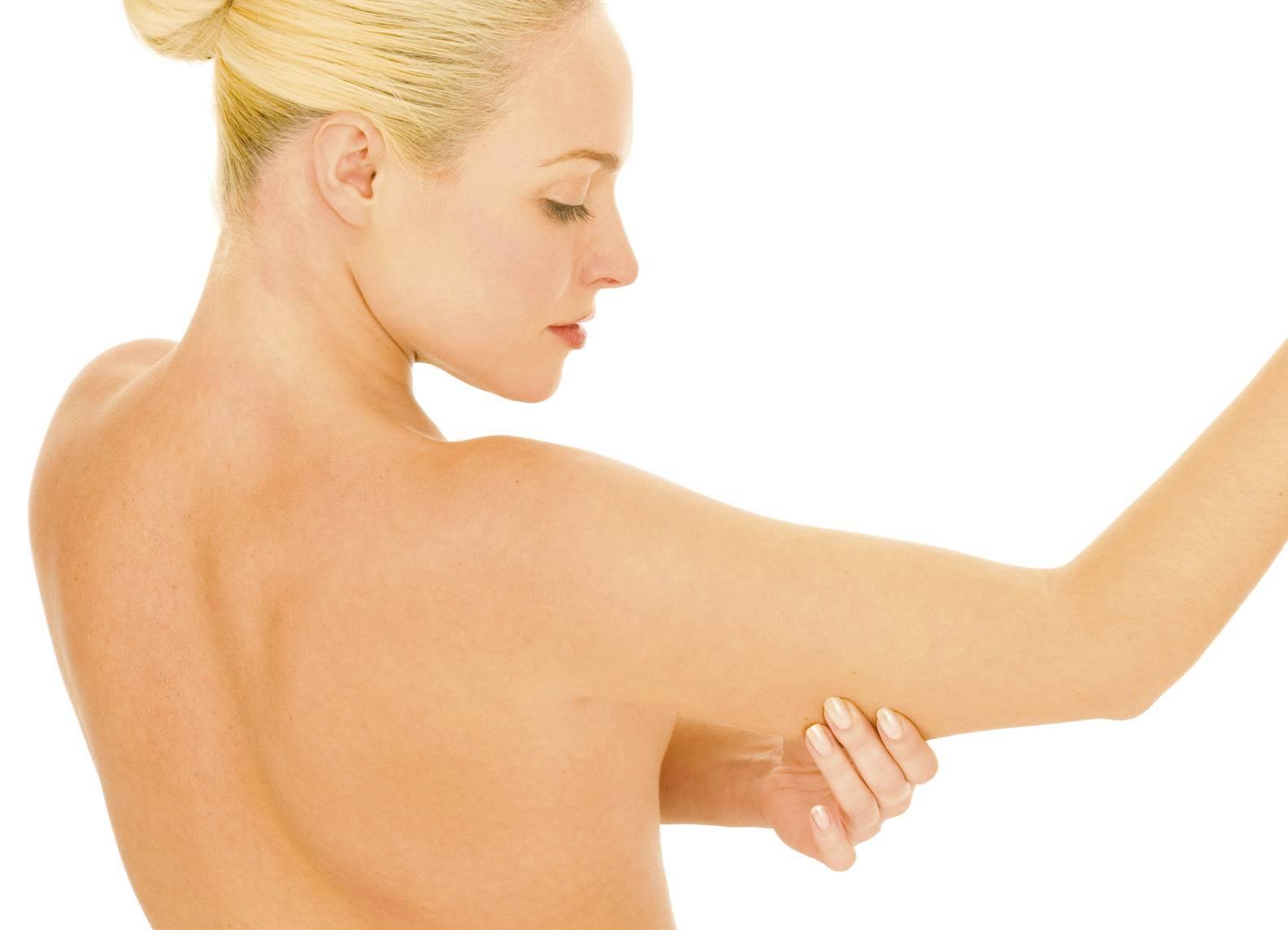 Как убрать куриную кожу с руки thumbnail