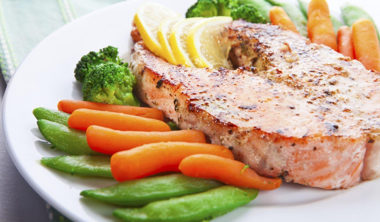 Правильный обед для похудения примеры