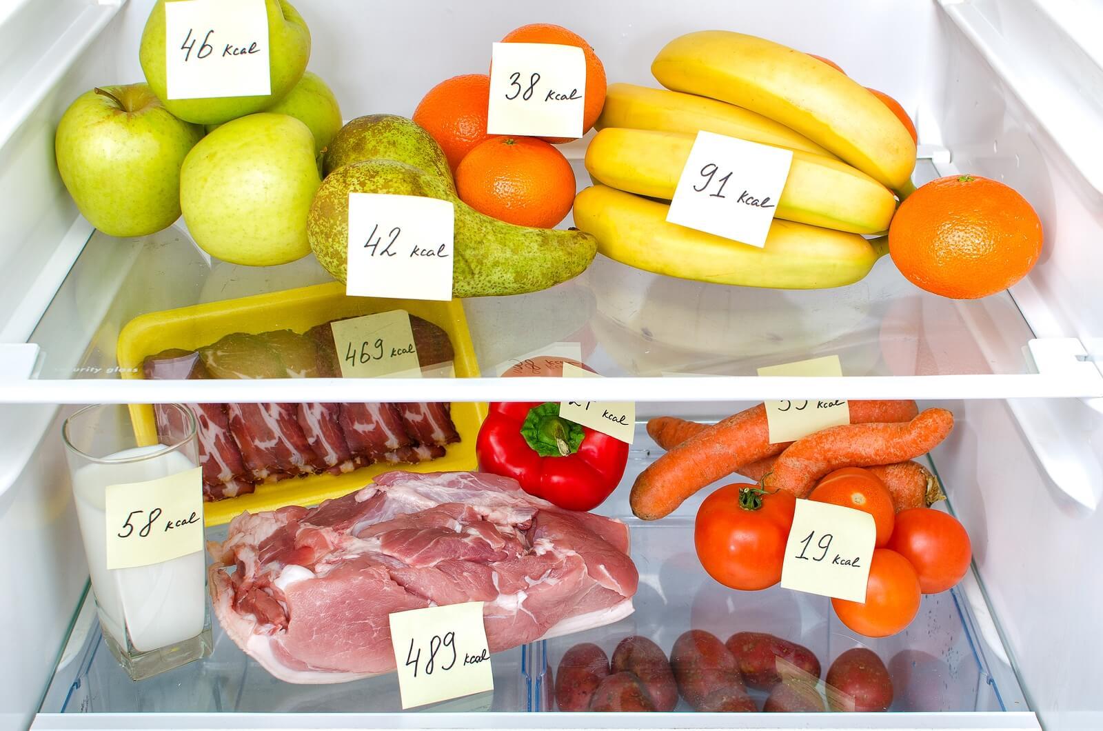 Расчет нормы калорий для похудения