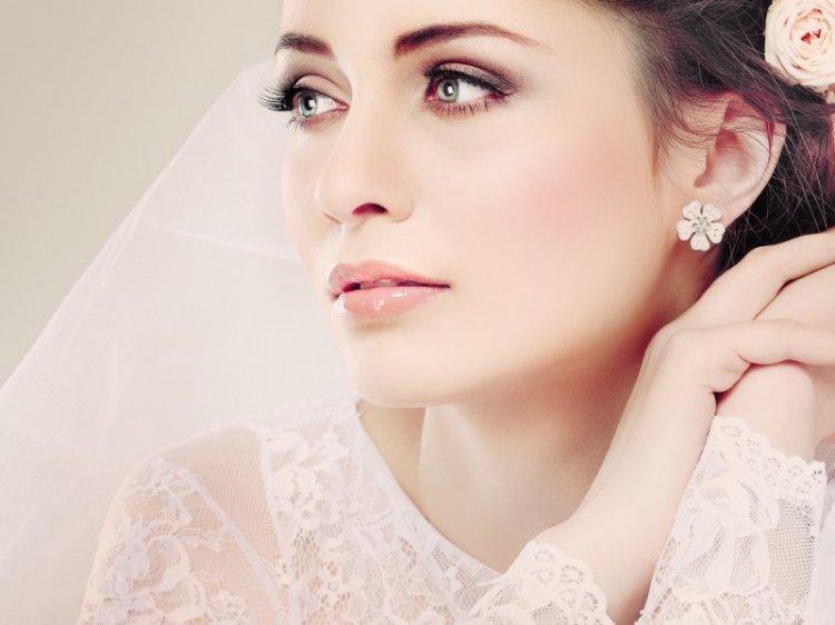Макияж на свадьбу для зеленых глаз