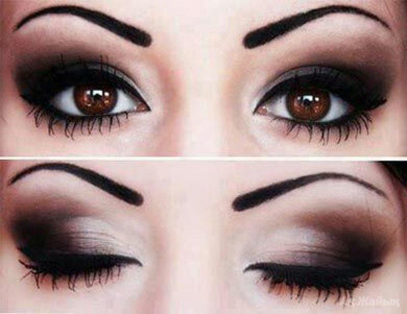 Какие тени подходят для карих глаз?