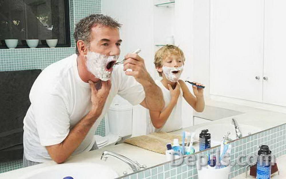 Как бриться без раздражения мужчине лицо станком